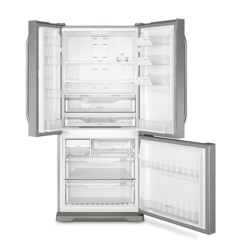 Imagem de Geladeira Frost Free Electrolux 579 Litros 3 Portas Inverse Cor Inox (DM84X)