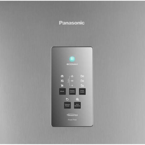 Imagem de Geladeira Panasonic 2 Portas Frost Free 435L NR-BT51 Aço Escovado