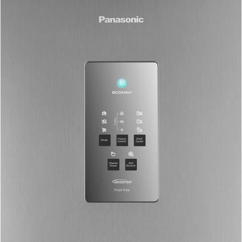 Imagem de Geladeira Panasonic 2 Portas Frost Free 483L NR-BT55 Aço Escovado