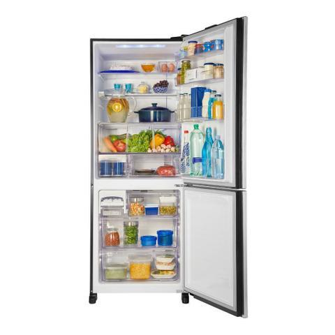Imagem de Geladeira Panasonic Bottom Freezer 2 Portas Frost Free 425L NR-BB53GV3 Preto