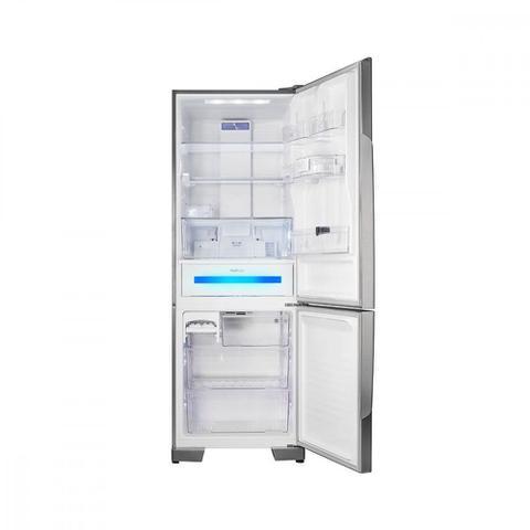 Imagem de Geladeira Panasonic Degelo Frost Free Bottom Freezer 2 Portas NR-BB71PVFXA 480 Litros Aço Escovado