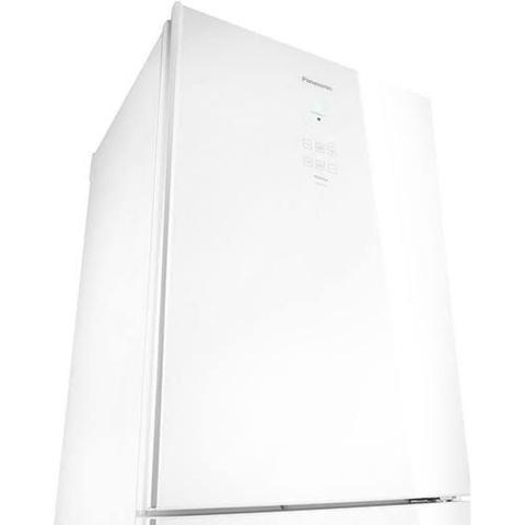 Imagem de Geladeira Panasonic Inverter White Glass Frost Free 425 Litros Branco 110V NR-BB53GV3WA