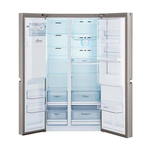 Imagem de Geladeira Refrigerador 601L 3 Portas LG Side By Side P-Veyron GS65SDN1.ANSGSBS