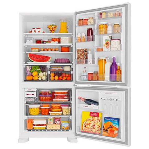 Imagem de Geladeira Refrigerador Brastemp Frost Free Inverse 2 Portas 573 Litros Smart Bar BRE80ABANA