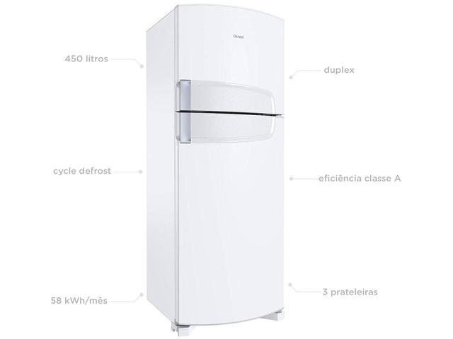 52ecdf22b Geladeira Refrigerador Consul Cycle Defrost Duplex - 450L CRD49ABANA ...