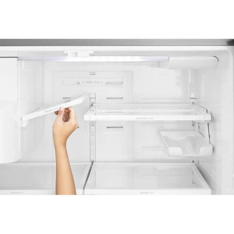 Imagem de Geladeira Refrigerador Electrolux French Door 634L FDI90 Frost Free 127V Cinza