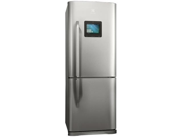 Geladeira refrigerador 454 litros 2 portas inox botton for Geladeira 2 portas inox
