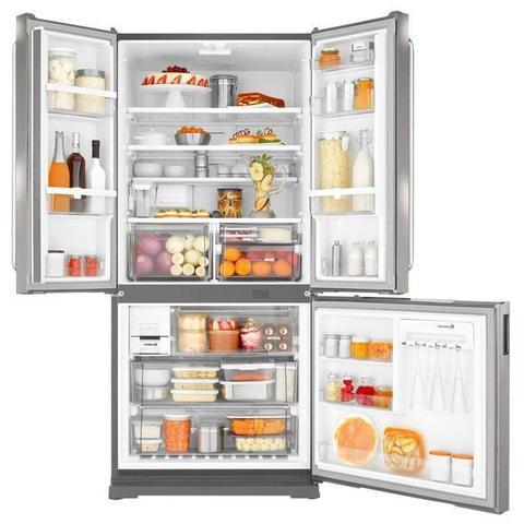 Imagem de Geladeira / Refrigerador Frost Free Brastemp Side Inverse BRO80AK, 540 Litros, Platinum