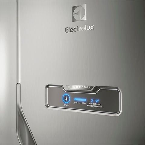 Imagem de Geladeira/Refrigerador Frost Free Inox 371L Electrolux (DFX41)