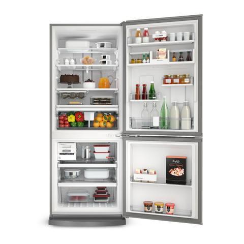 Imagem de Geladeira/Refrigerador Inverse Frost Free 443L Brastemp BRE57AK Inox 220V
