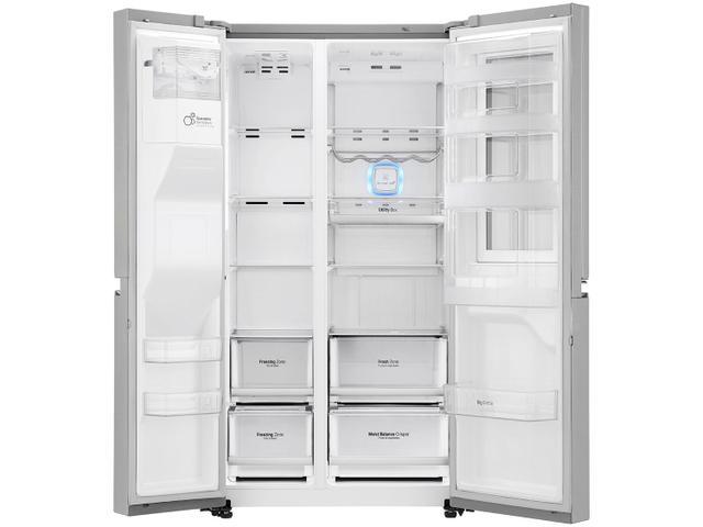 Imagem de Geladeira/Refrigerador LG Degelo Automático Inox