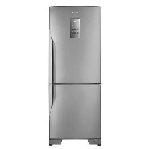 Imagem de Geladeira/Refrigerador Panasonic Frost Free 2 Portas NR-BB53 425 Litros Tecnologia Inverter Aço Escovado