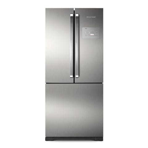 Imagem de Geladeira/Refrigerador Side By Side Frost Free 540L Brastemp BRO80AK Inox 127V