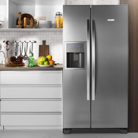 Imagem de Geladeira/Refrigerador Side By Side Frost Free Inox 504L Electrolux (SS72X)