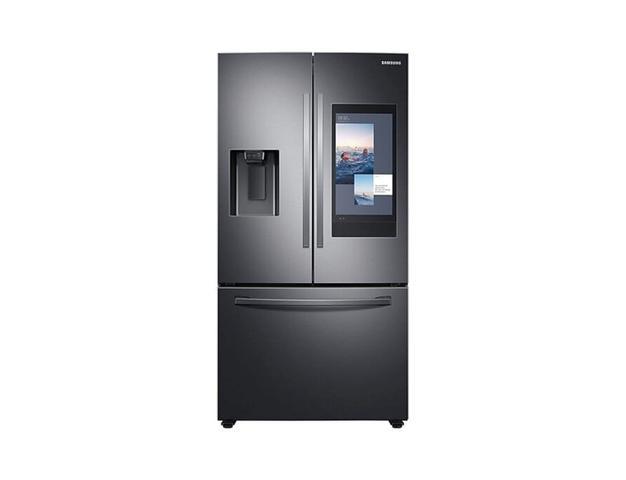 Imagem de Geladeira Samsung RF27T Inverter Frost Free Smart 3 Portas com Soundbar 614L Inox Preta