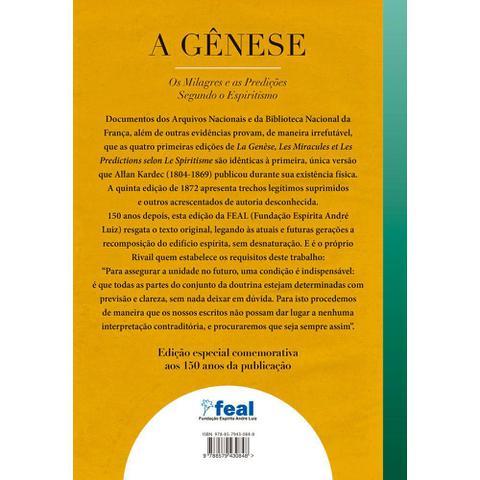 Imagem de Gênese, A  os Milagres e as Predições Segundo o Espiritismo