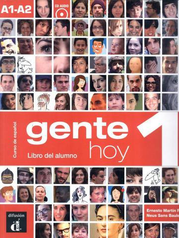 Imagem de Gente hoy 1 - libro del alumno + cd audio a1-a2