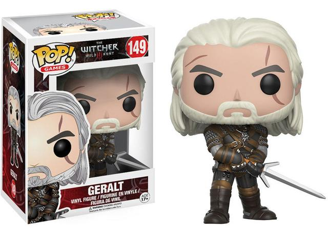 Imagem de Geralt 149 - The Witcher 3 - Funko Pop! Games