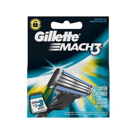 Imagem de Gillette Mach3 Carga Regular C/3