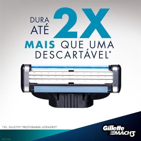 Imagem de Gillette Mach3 Regular 24 Cartuchos Recarga