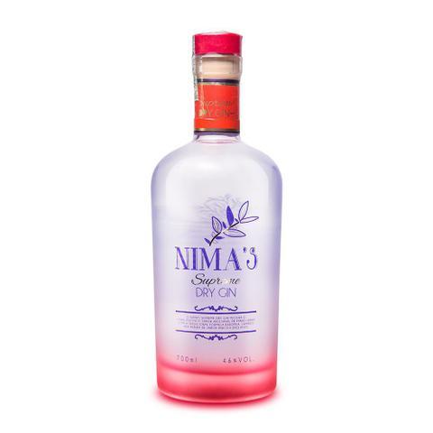 Imagem de Gin Artesanal NIMA'S BLEND - Seleção Exclusiva 10 Botânicos - Supreme Dry Gin. 700mLs.