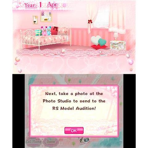 Imagem de Girls Fashion Shoot Jogo Infantil Nintendo 3Ds D3publisher