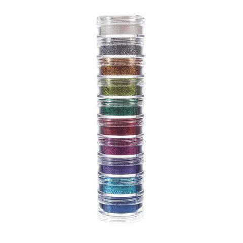 Imagem de Glitter em pó facial com 10 cores - 2702 - Colormake