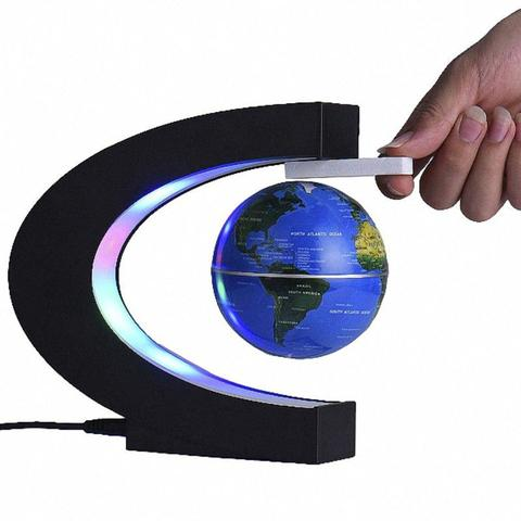 Imagem de Globo Terrestre Magnetico Flutuante Giratorio Anti Gravidade
