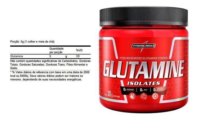 Imagem de Glutamina integral médica 300g