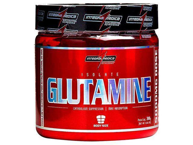 Imagem de Glutamina Isolate Glutamine 300g - Integralmédica