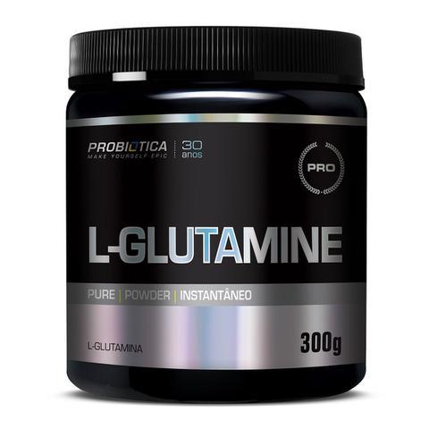 Imagem de Glutamina Probiótica Pote 300g L-Glutamine Pure