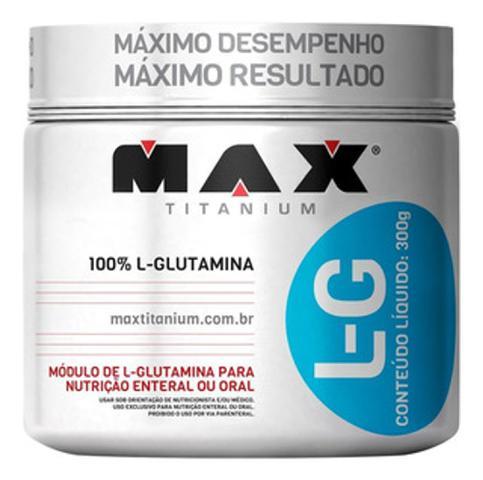 Imagem de GLUTAMINA PURA L-G 300g  - Max Titanium