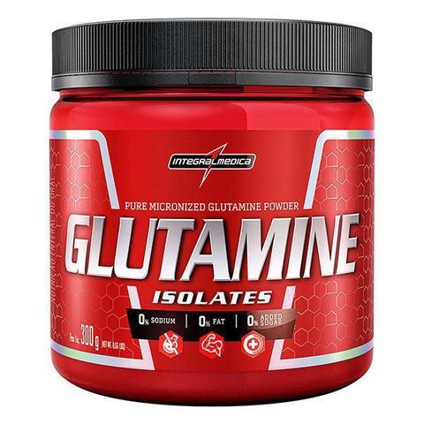 Imagem de Glutamine isolates 300g - integralmedica