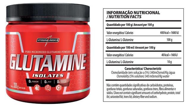 Imagem de Glutamine Powder 300g - Integralmédica