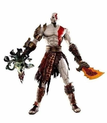Imagem de God Of War Kratos Vs Medusa Neca19cm Original Pronta Entrega