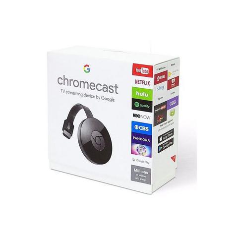 Imagem de Google Chromecast 2 1080P 4K 2,5Ghz Wifi HDMI.