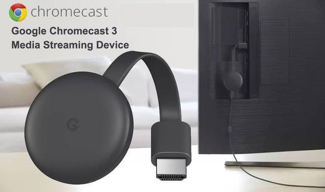 Imagem de Google Chromecast 3 Hdmi 1080p Chrome Cast 3 Original
