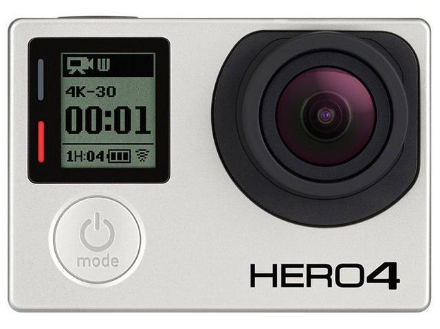 Imagem de GoPro Hero 4 Black À prova de Água 12MP Wi-Fi