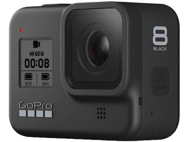 Imagem de GoPro Hero 8 Black 12MP 4K60 Wi-Fi Bluetooth GPS