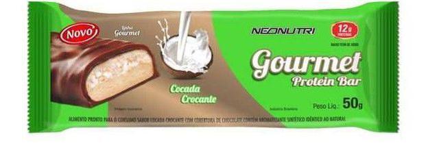 Imagem de Gourmet Protein Bar Cocada Crocante - 50G Neo Nutri
