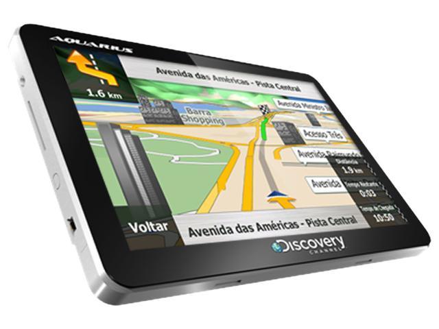Imagem de GPS Automotivo Aquarius Discovery Channel Slim