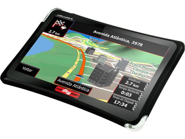Imagem de GPS Automotivo Aquarius Guia Quatro Rodas GPS 4.3