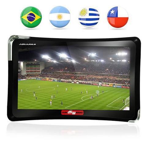 Imagem de GPS Automotivo Aquarius Guia Quatro Rodas Tela 7 com TV Digital