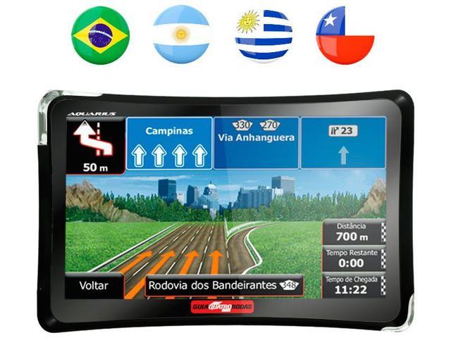 Imagem de GPS Automotivo Aquarius Quatro Rodas MTC4374