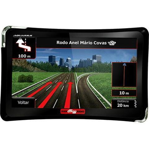 Imagem de GPS Automotivo Guia Quatro Rodas 5.0 com TV Digital Alerta de Radar