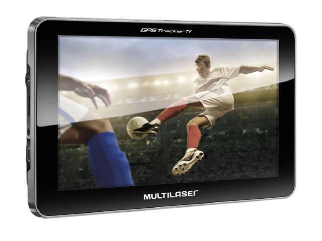 "Imagem de GPS Automotivo Multilaser Tracker TV Tela 7"" Touch"