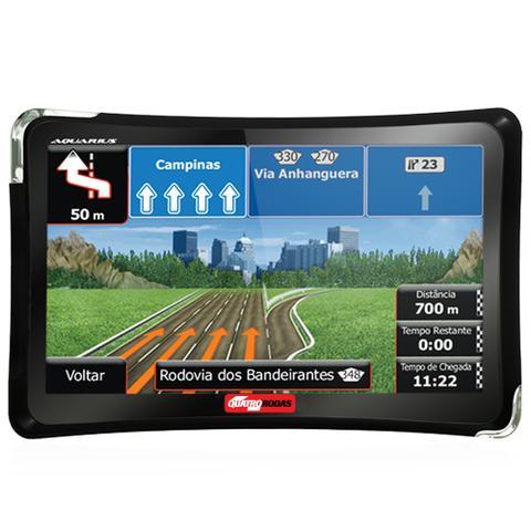 Imagem de GPS Automotivo Quatro Rodas 4.3