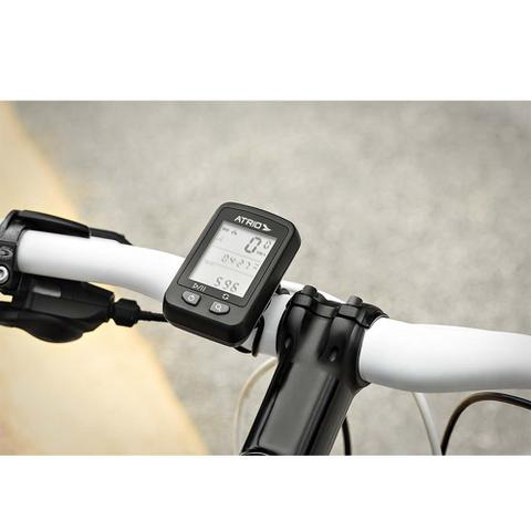 Imagem de GPS Iron para Ciclismo Resistente à Água Bateria Recarregável e Material em Plástico Preto Atrio- BI091