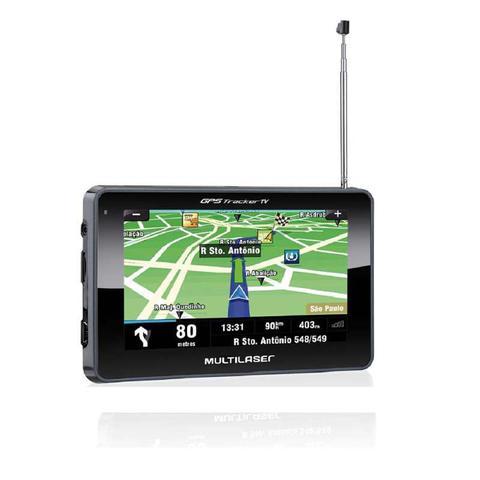 Imagem de GPS LCD 4,3 Pol. Touch Tv Digital Rádio FM Tts E-Book Multilaser - GP034