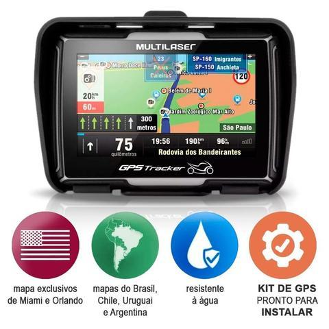 Imagem de Gps Multilaser Tracker 2 Moto 4,3 Polegadas Touch Bluetooth